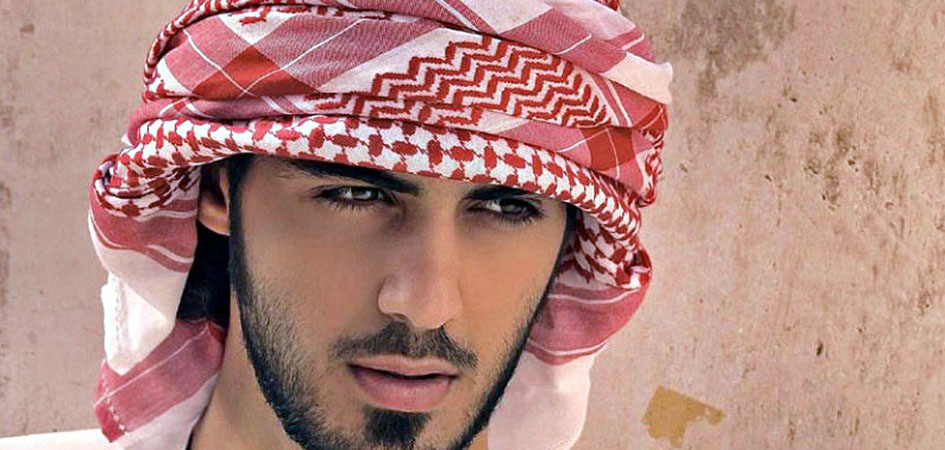 how to wear an arabic head dress ghutra
