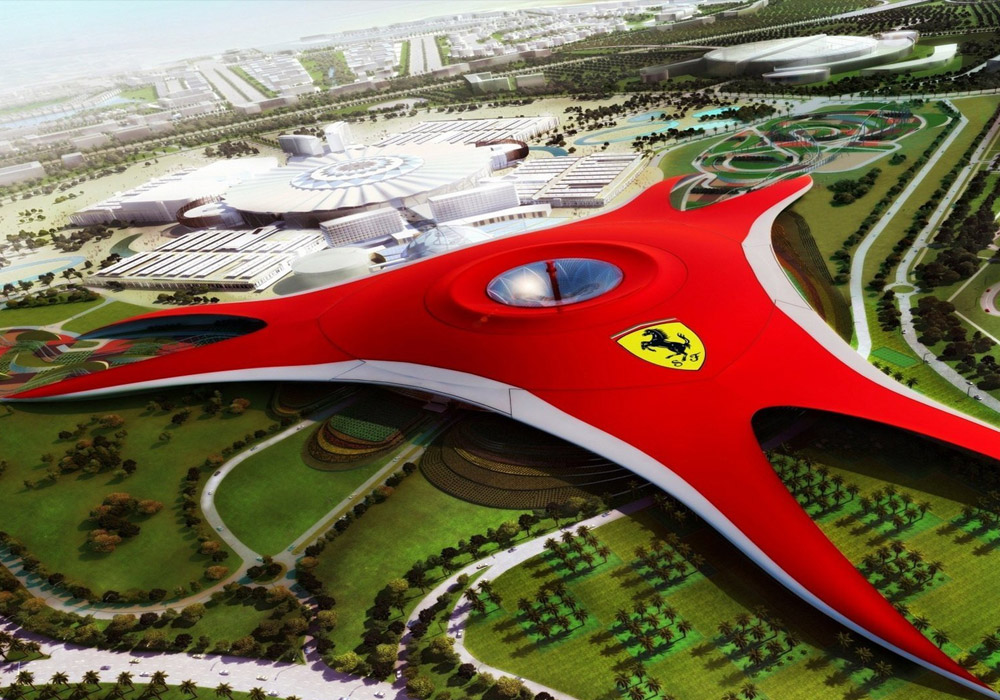 Experience the world's fastest roller coaster in Ferrari World