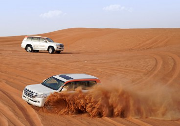 Dune Bashing at its full pace