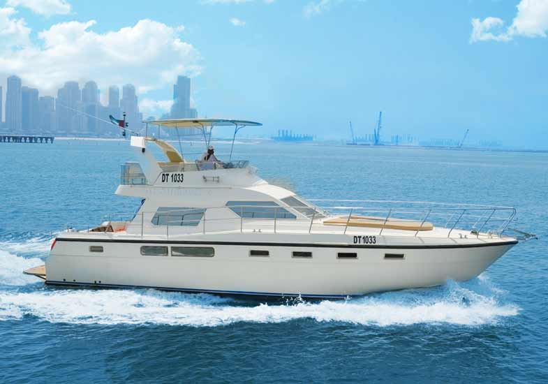 45 Feet Luxury Yacht Cruising Tour Dubai