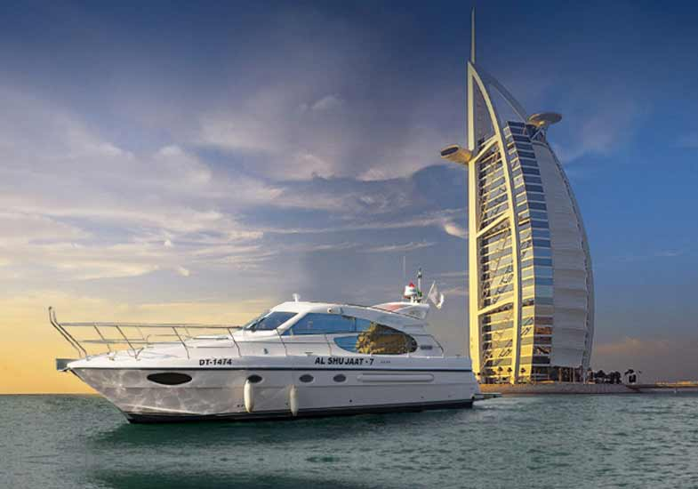 50 Feet Luxury Yacht - Al Shujaat 7