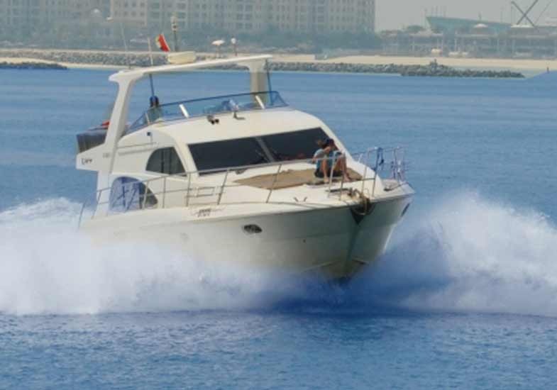 55 Feet Luxury Yacht Cruising Tour Dubai