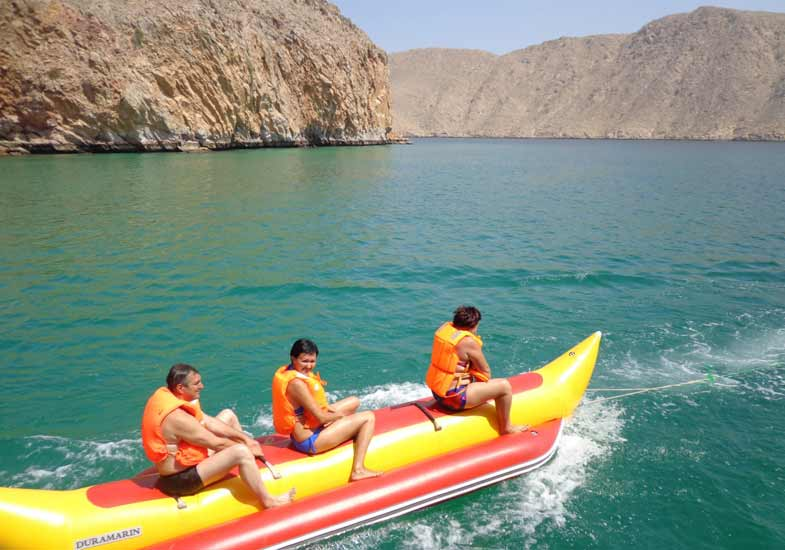 Make your trip memorable and unmatchable with the boat ride and other water activities
