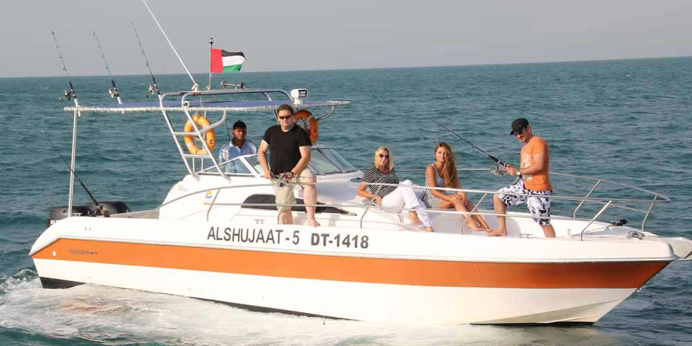 Memorable Sports Fishing Boat Trip in Dubai Marina