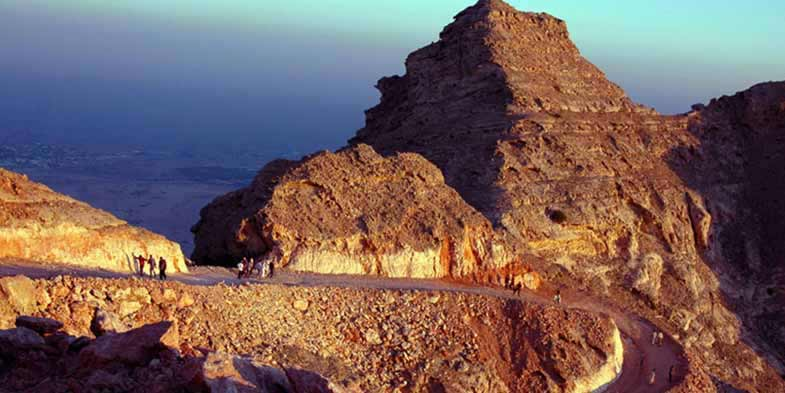 Watch the sun-set from the top of Jebel Hafeet