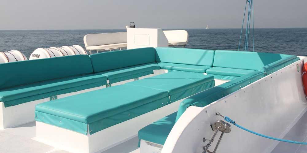 Dubai Catamaran Cruise - Oasis Palm Tourism
