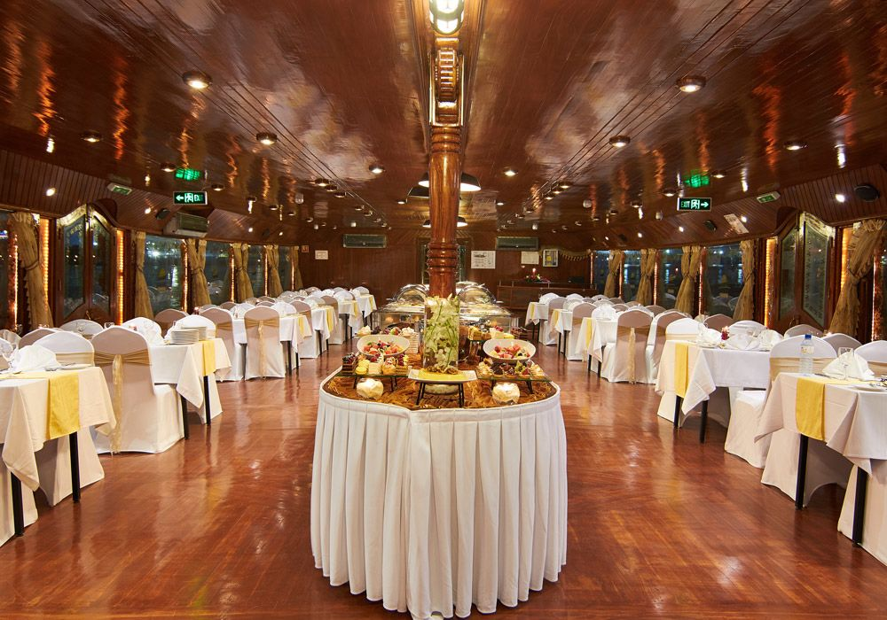 An inside look at Dhow Cruise