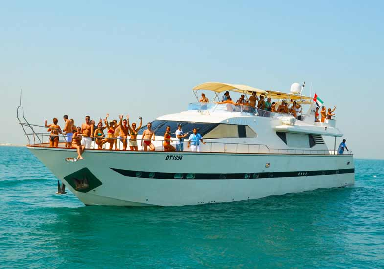 social get to gather on a luxury yacht