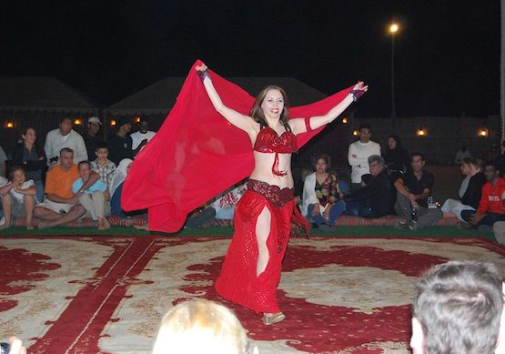 Belly Dance Show at Campsite